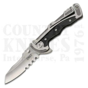 Buy CRKT  CR5195 Graphite - Serrated at Country Knives.
