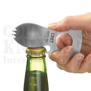 Buy CRKT  CR9100KC Eat'N Tool - Black Teflon at Country Knives.