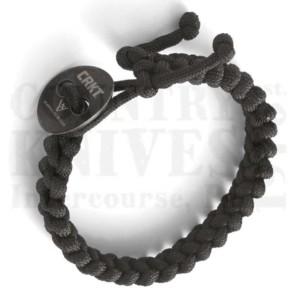 CRKT9350KLQuick Release Paracord Bracelet – Large / Black