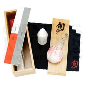 Buy Kai  KDM0625 Knife Care Kit - Shun Classic at Country Knives.