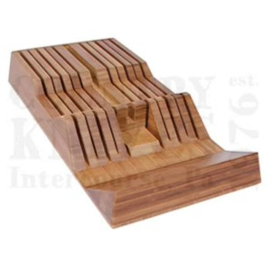 KaiDM083511 Slot In-Drawer Knife Tray – Bamboo