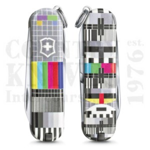 Buy Victorinox Swiss Army 0.6223.L2104 Classic SD 2021 - Retro TV at Country Knives.