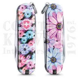 Buy Victorinox Swiss Army 0.6223.L2107 Classic SD 2021 - Dynamic Floral  at Country Knives.