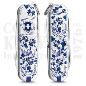 Buy Victorinox Swiss Army 0.6223.L2110 Classic SD 2021 - Porcelain Elegance  at Country Knives.