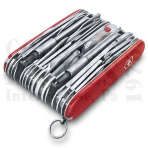 Buy Victorinox Swiss Army 1.6795.XXL SwissChamp XXL - Red at Country Knives.