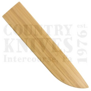 """Apogee Culinary DesignsACES-SHTH-1050Bamboo Magnetic Knife Sheath – for 10½"""" Slicing"""