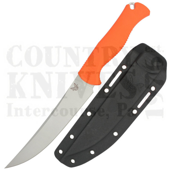 Buy Benchmade  BM15500 Meatcrafter - Orange Santoprene at Country Knives.