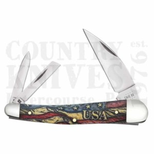 Buy Case  CA36034 Seahorse Whittler - Vintage Flag at Country Knives.