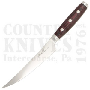 """Buy Apogee Culinary Designs  DRGF-FILE-0600 6"""" Curved Fillet Knife - Dragon Fire / Black & Red Micarta at Country Knives."""