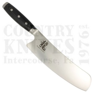 """Buy Apogee Culinary Designs  DRGN-FUSI-0850 8½"""" Fusion Rocking Chef's Knife - Dragon / Black G-10 at Country Knives."""
