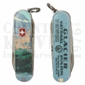 Victorinox | Swiss Army55493Classic SD – Glacier National Park
