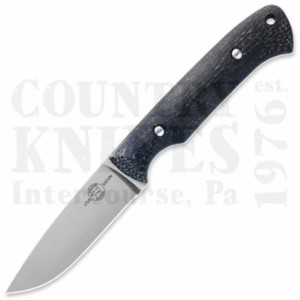 White River Knife & ToolWRHNT-BBLHunter – S35VN / Black Burlap Micarta