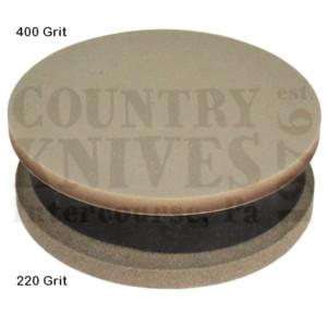 Straight Grain SupplySGSP220400Axe Sharpening Puck – 220/400 grit